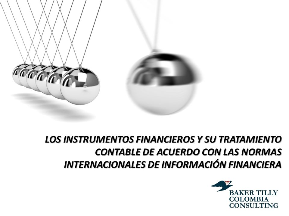 Wilmar Franco Franco LOS INSTRUMENTOS FINANCIEROS Y SU TRATAMIENTO CONTABLE DE ACUERDO CON LAS NORMAS INTERNACIONALES DE INFORMACIÓN FINANCIERA.