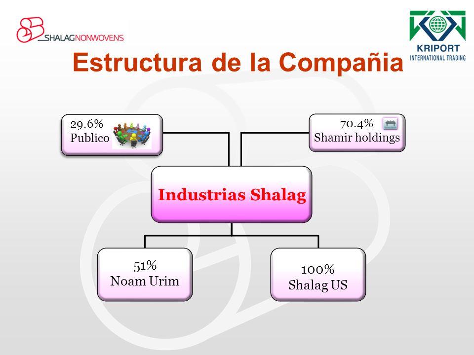 Estructura de la Compañia
