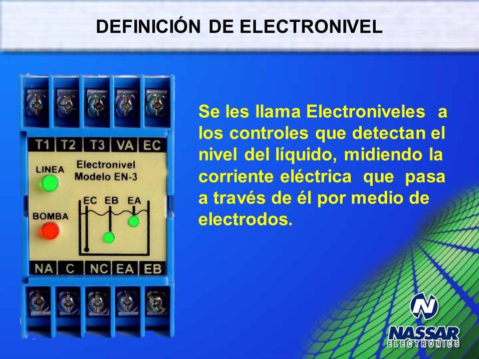 DEFINICIÓN DE ELECTRONIVEL
