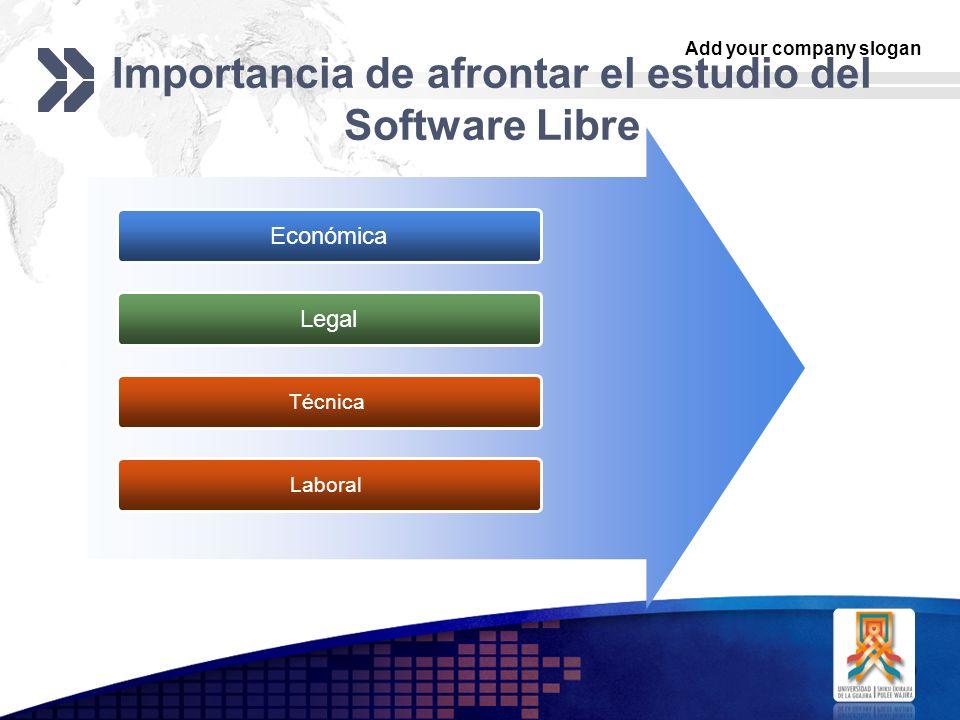Importancia de afrontar el estudio del Software Libre