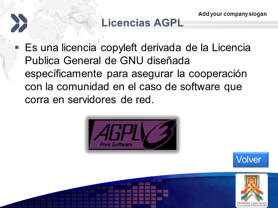 Licencias AGPL