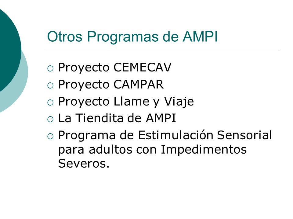Otros Programas de AMPI