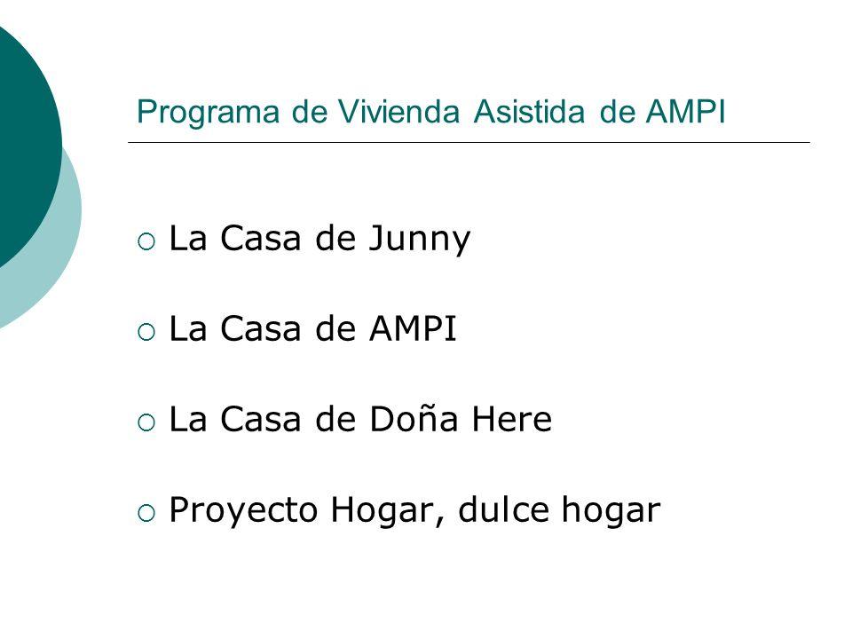 Programa de Vivienda Asistida de AMPI