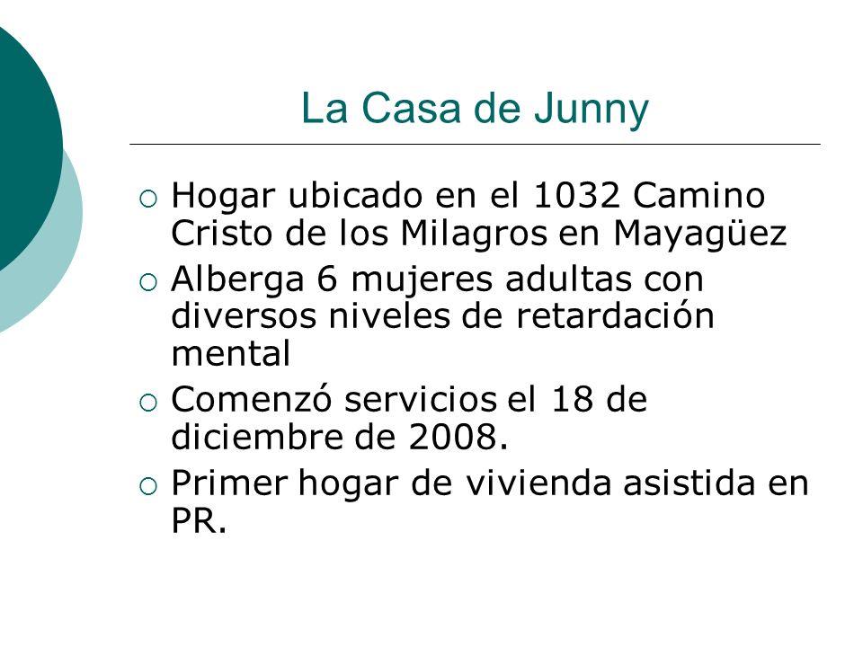 La Casa de Junny Hogar ubicado en el 1032 Camino Cristo de los Milagros en Mayagüez.