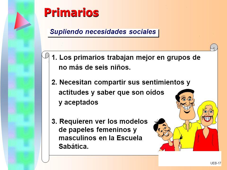 Primarios Supliendo necesidades sociales