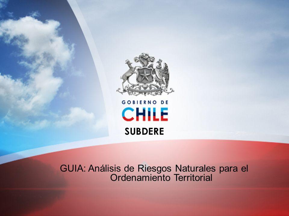 GUIA: Análisis de Riesgos Naturales para el Ordenamiento Territorial