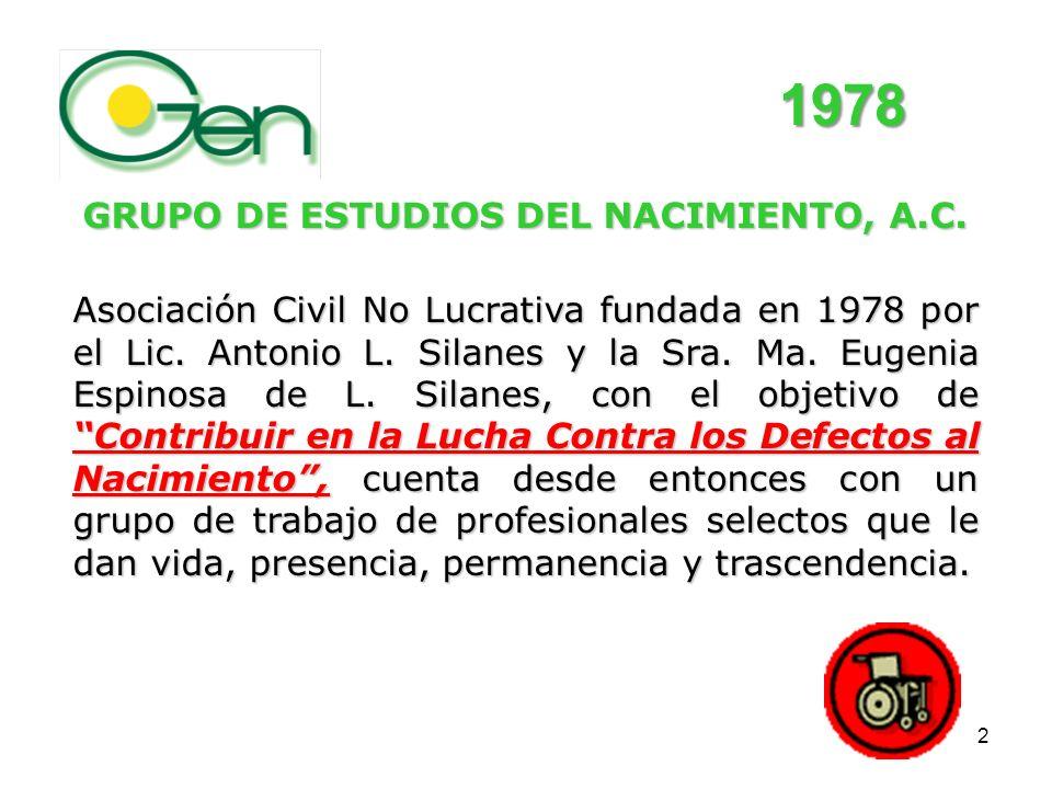 GRUPO DE ESTUDIOS DEL NACIMIENTO, A.C.
