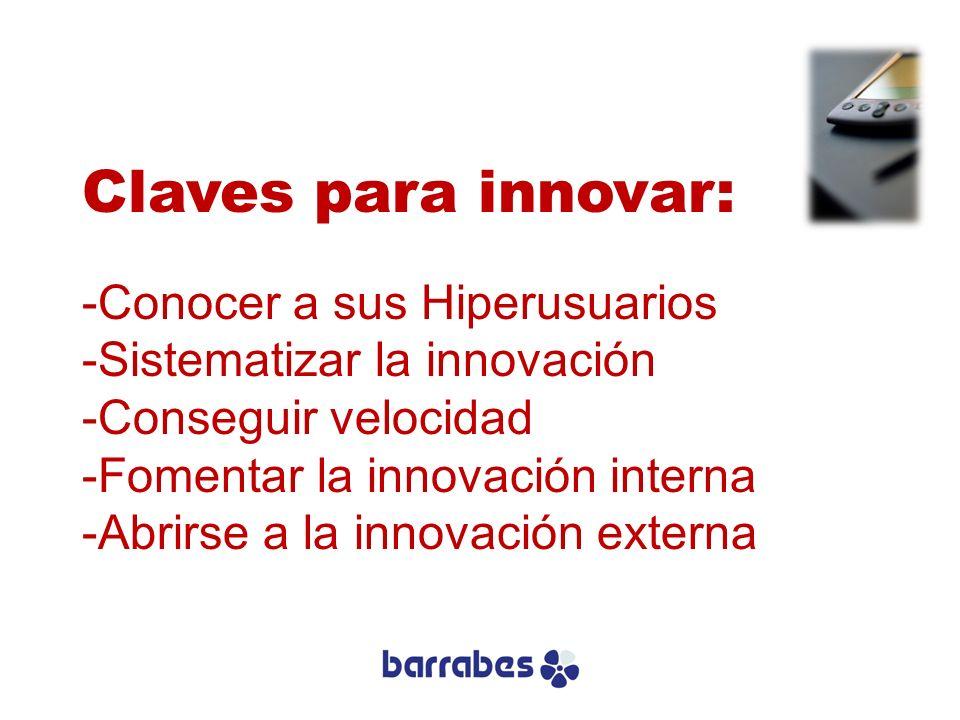Claves para innovar: Conocer a sus Hiperusuarios