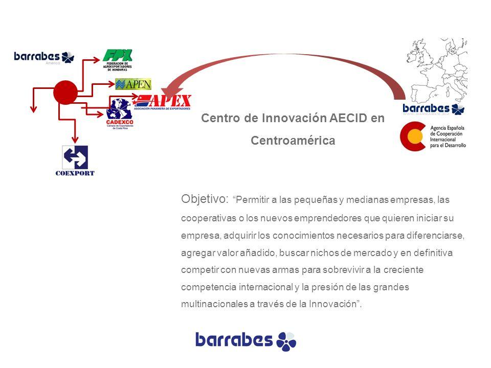 Centro de Innovación AECID en Centroamérica