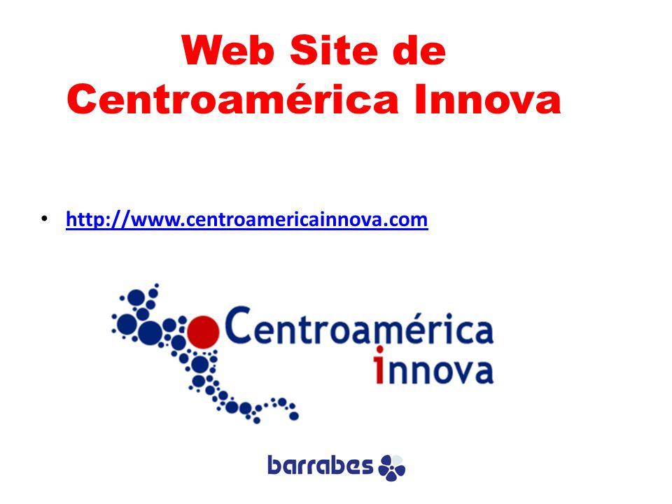 Web Site de Centroamérica Innova