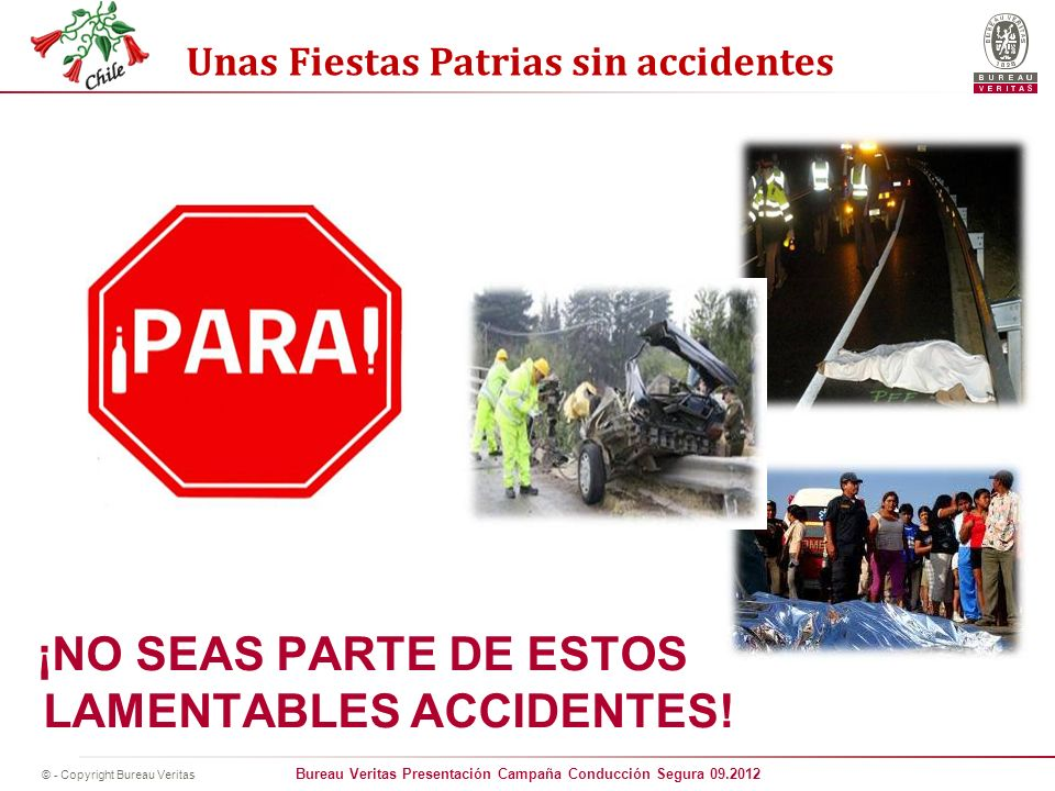 ¡NO SEAS PARTE DE ESTOS LAMENTABLES ACCIDENTES!