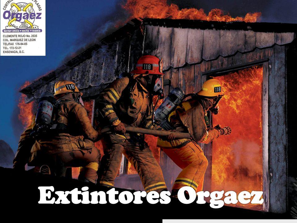 Extintores Orgaez