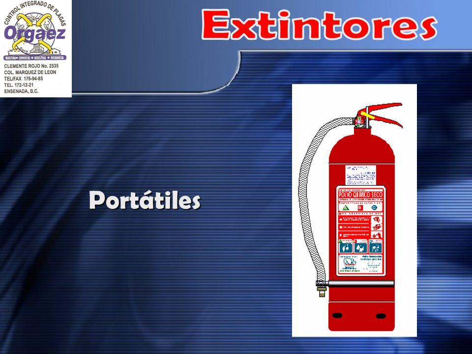 Extintores Portátiles