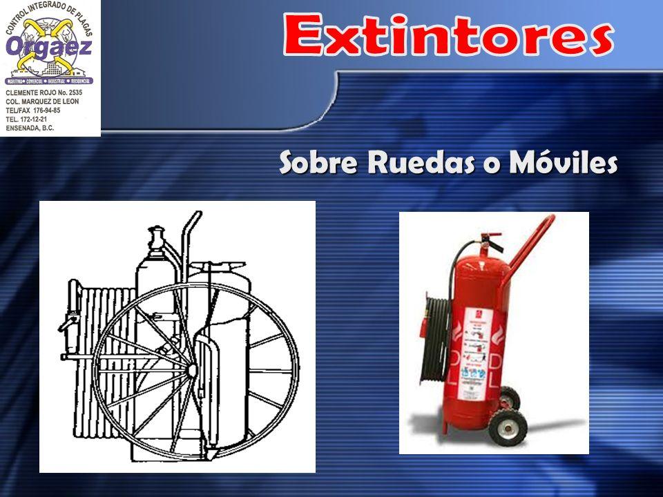 Extintores Sobre Ruedas o Móviles