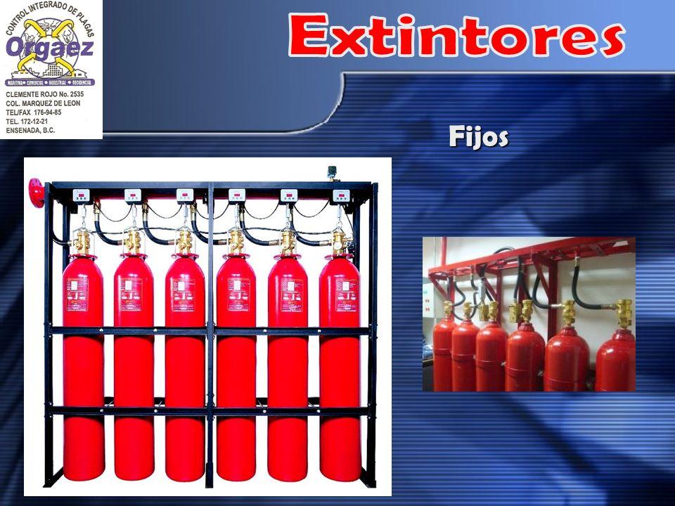 Extintores Fijos