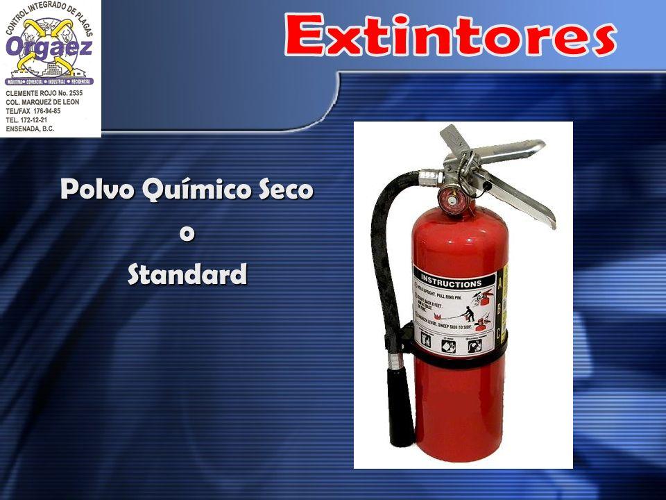 Extintores Polvo Químico Seco o Standard