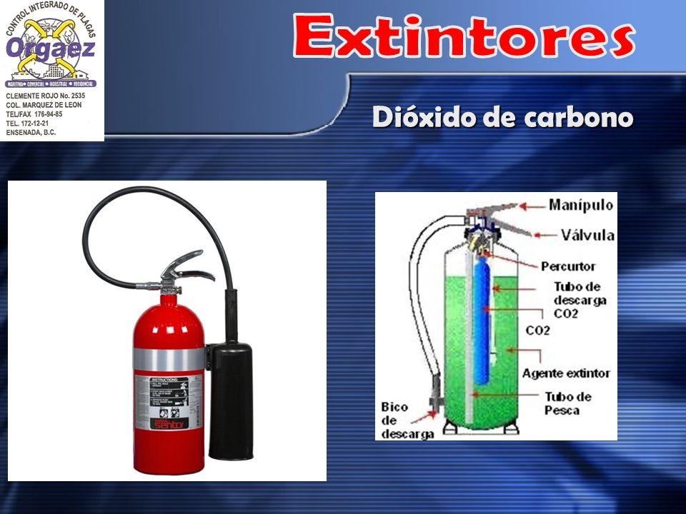 Extintores Dióxido de carbono