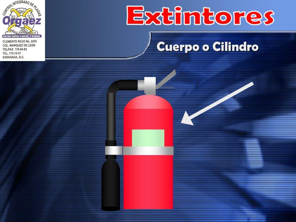 Extintores Cuerpo o Cilindro