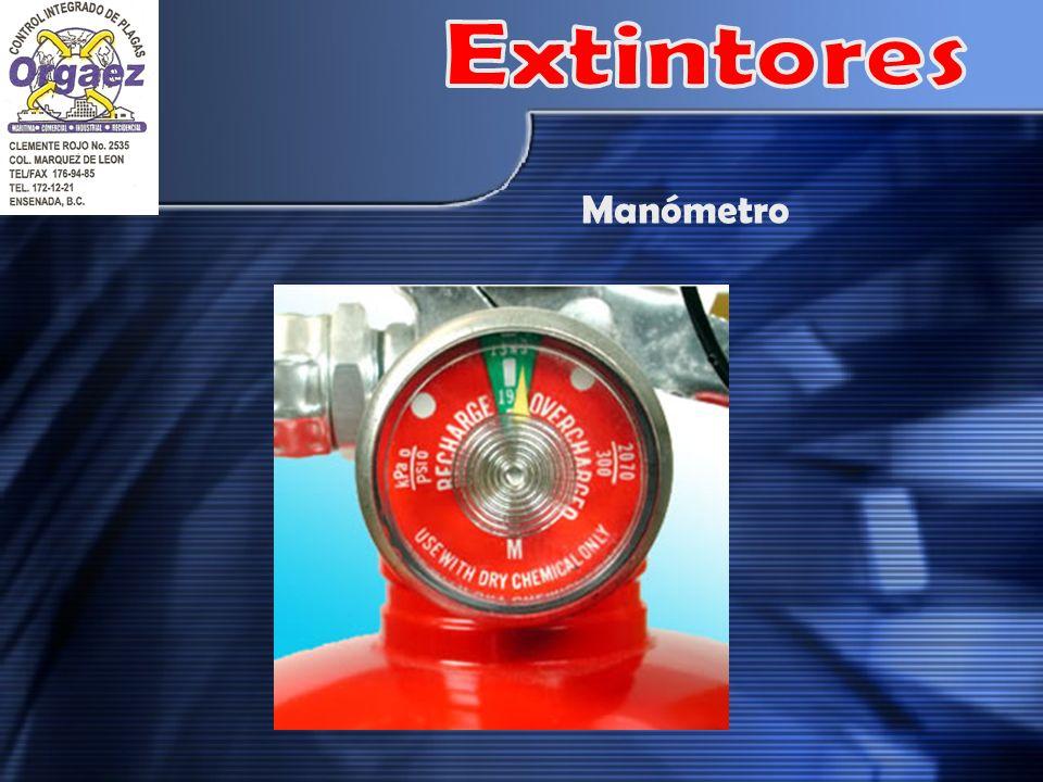 Extintores Manómetro