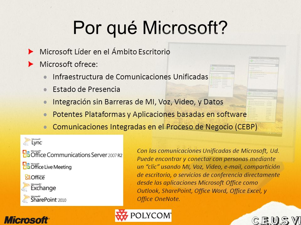 Por qué Microsoft Microsoft Líder en el Ámbito Escritorio