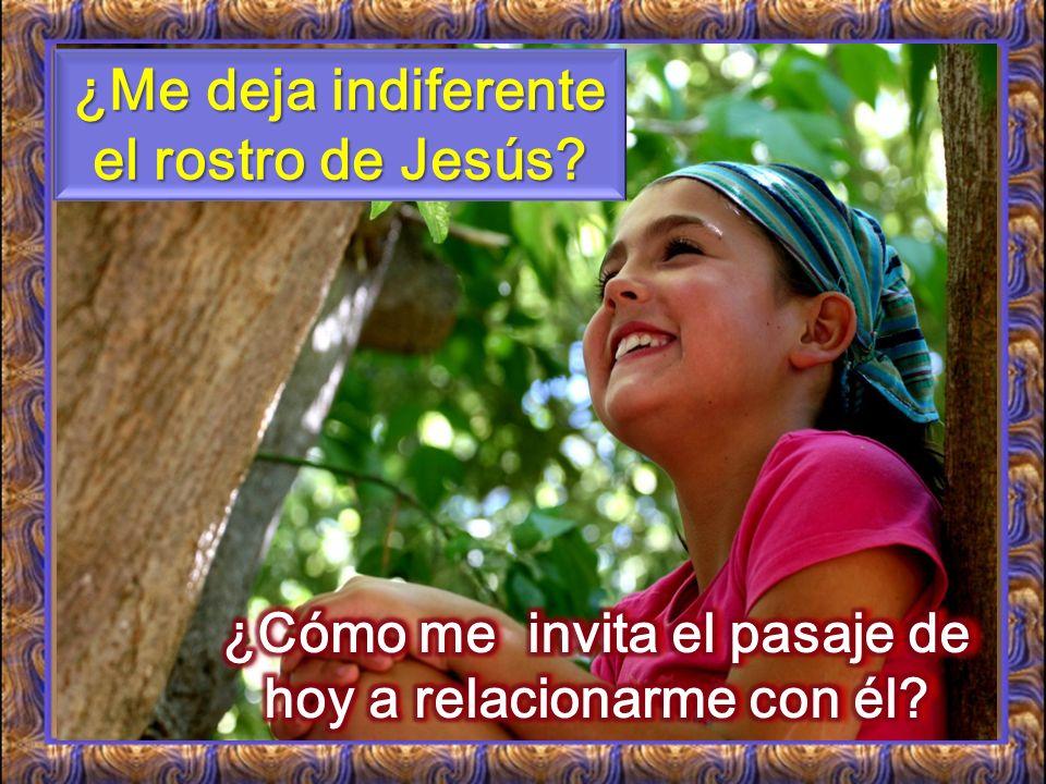 ¿Me deja indiferente el rostro de Jesús