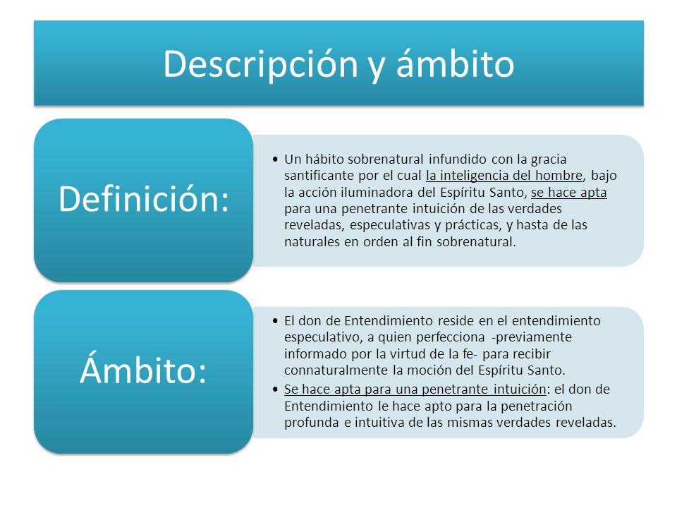 Descripción y ámbitoDefinición: