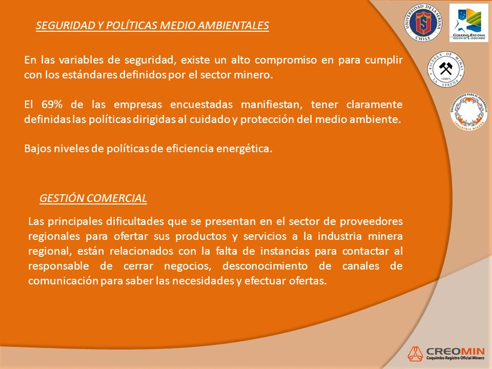 SEGURIDAD Y POLÍTICAS MEDIO AMBIENTALES