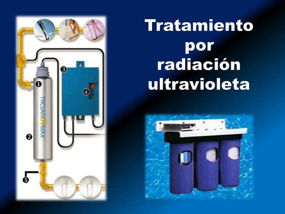 Tratamiento por radiación ultravioleta