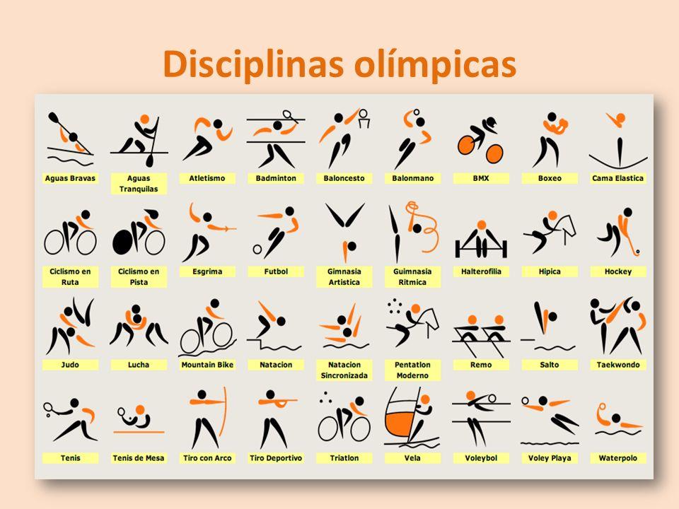 Disciplinas olímpicas