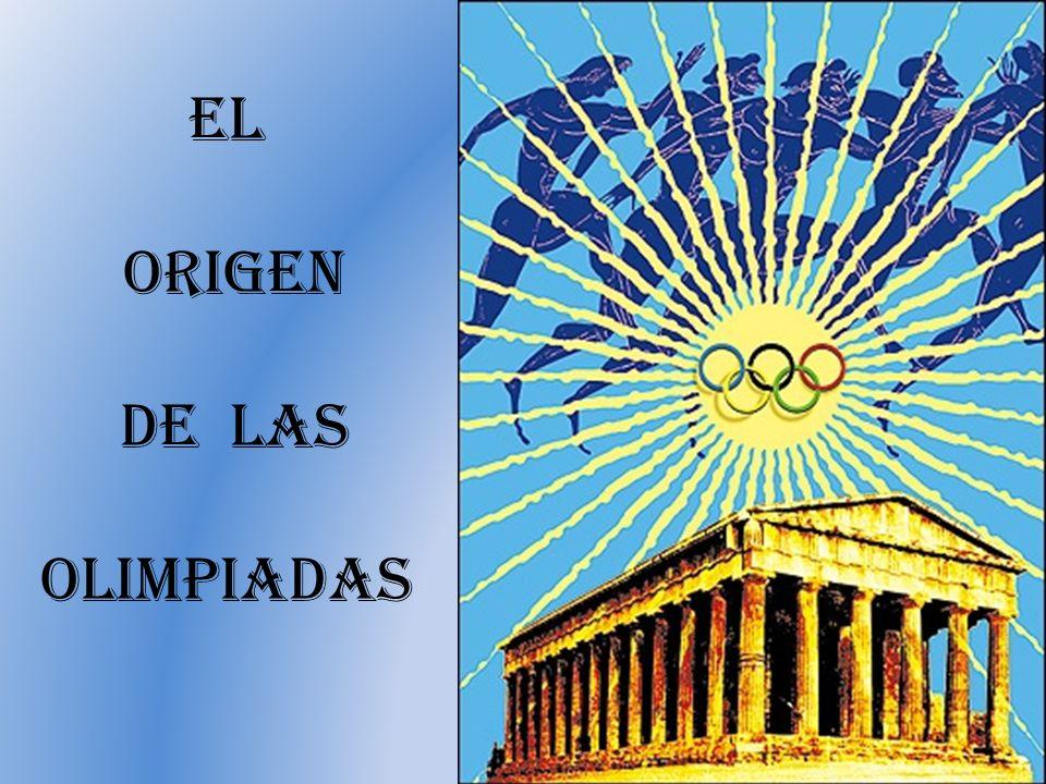 El origen de las olimpiadas