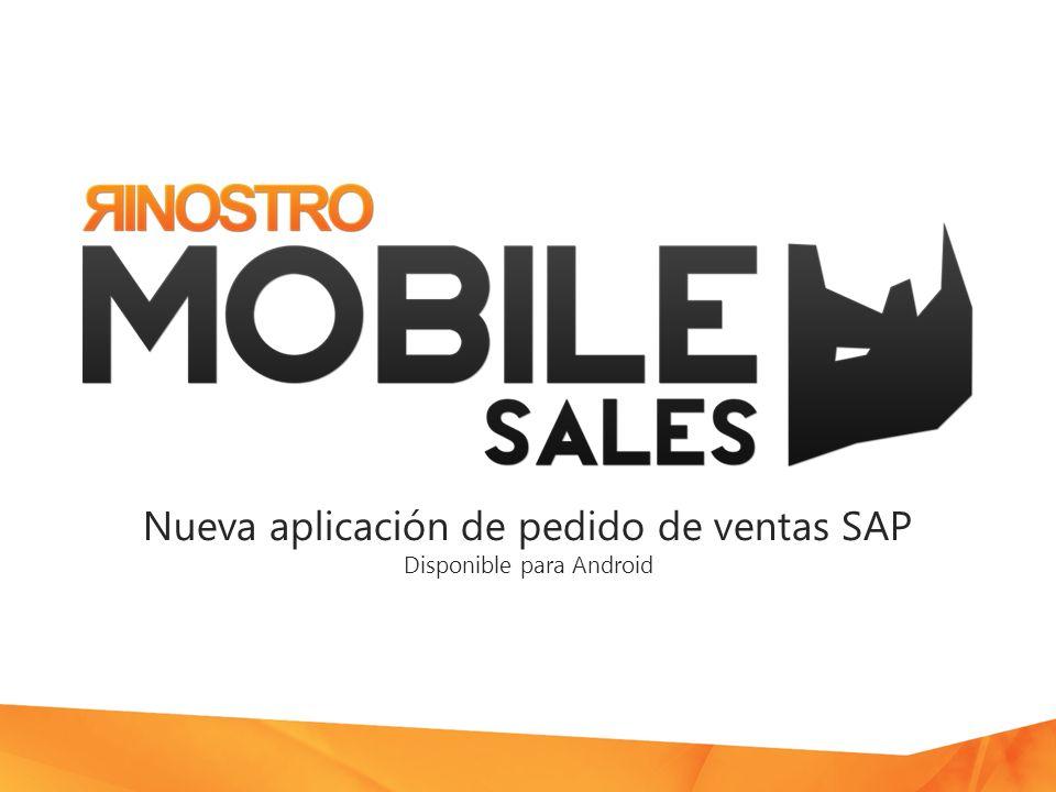 Nueva aplicación de pedido de ventas SAP