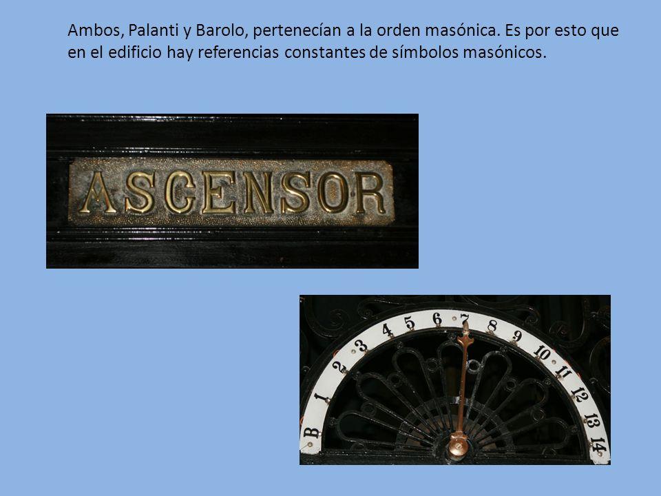 Ambos, Palanti y Barolo, pertenecían a la orden masónica