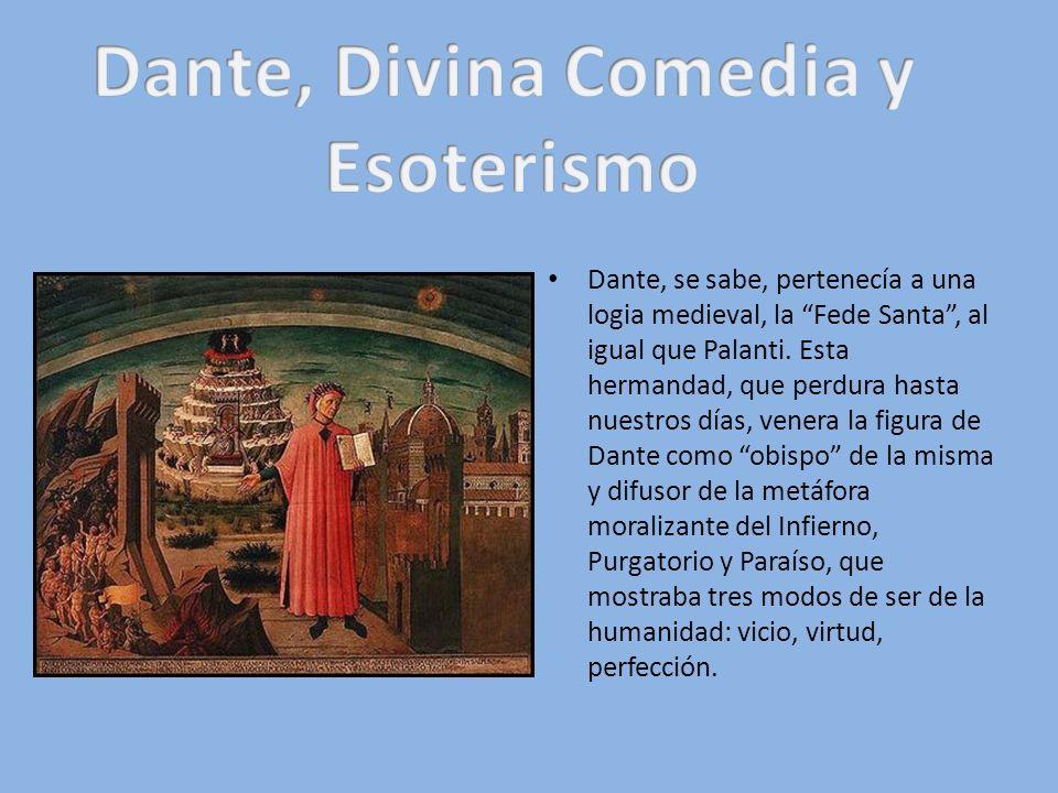 Dante, Divina Comedia y Esoterismo