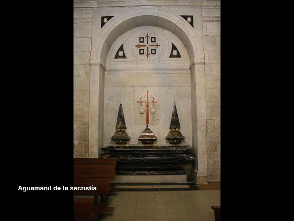 Aguamanil de la sacristía