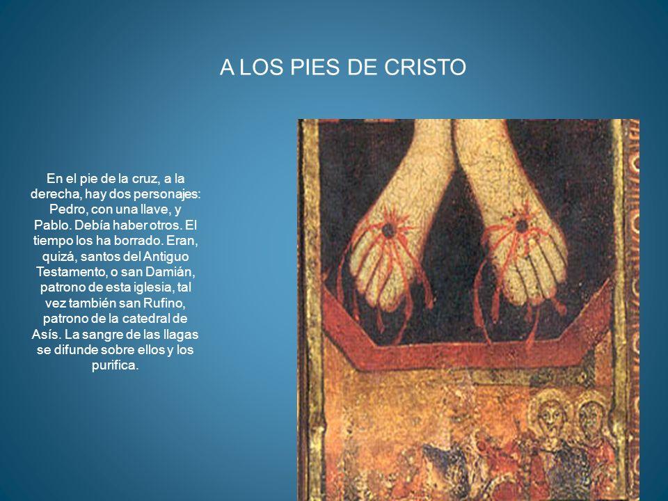 A LOS PIES DE CRISTO