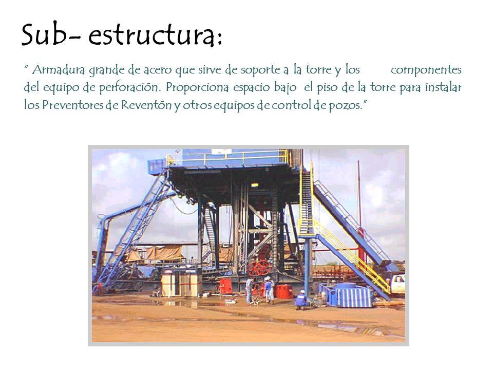 Sub- estructura: