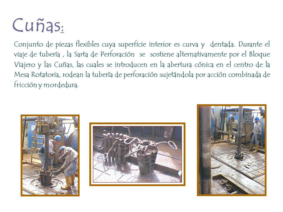 Cuñas: