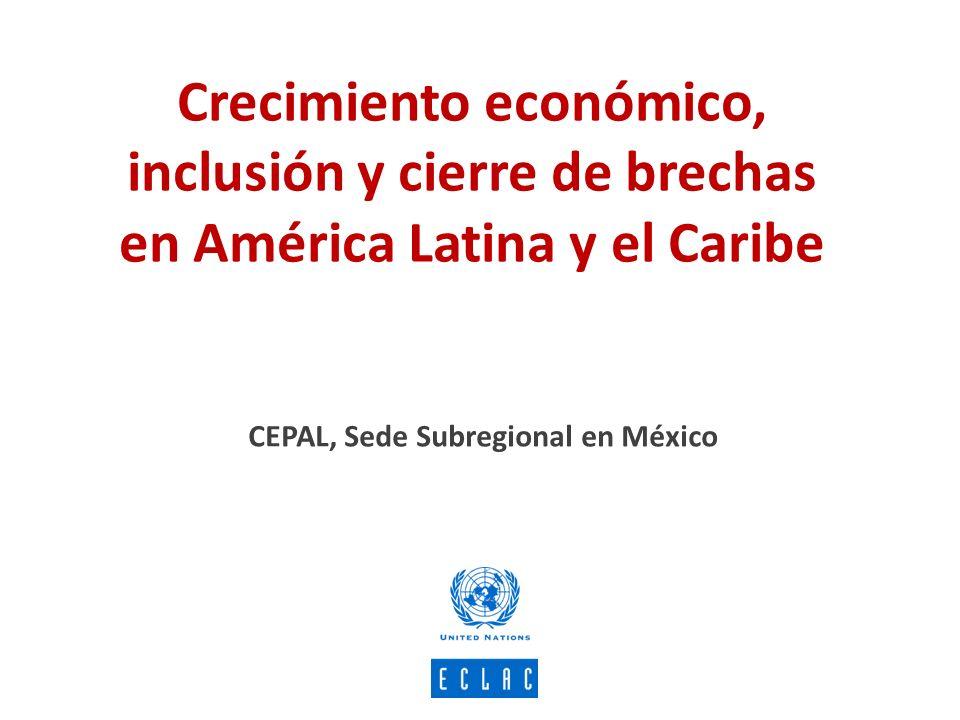 CEPAL, Sede Subregional en México