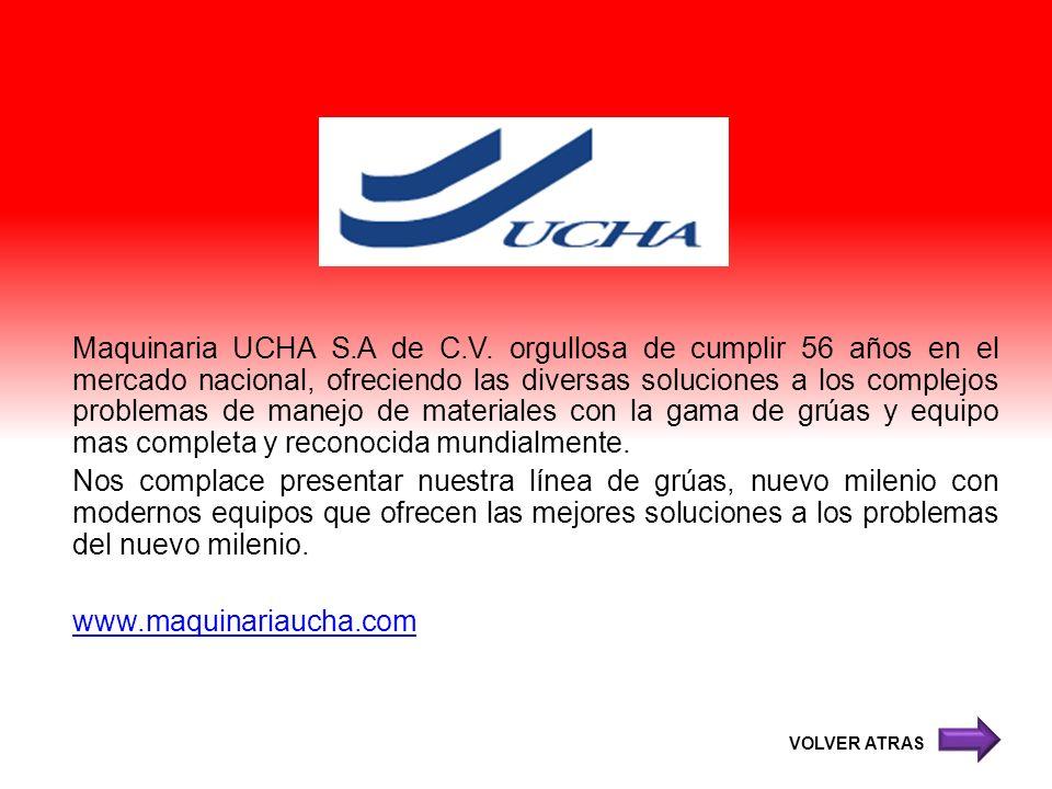 Maquinaria UCHA S. A de C. V