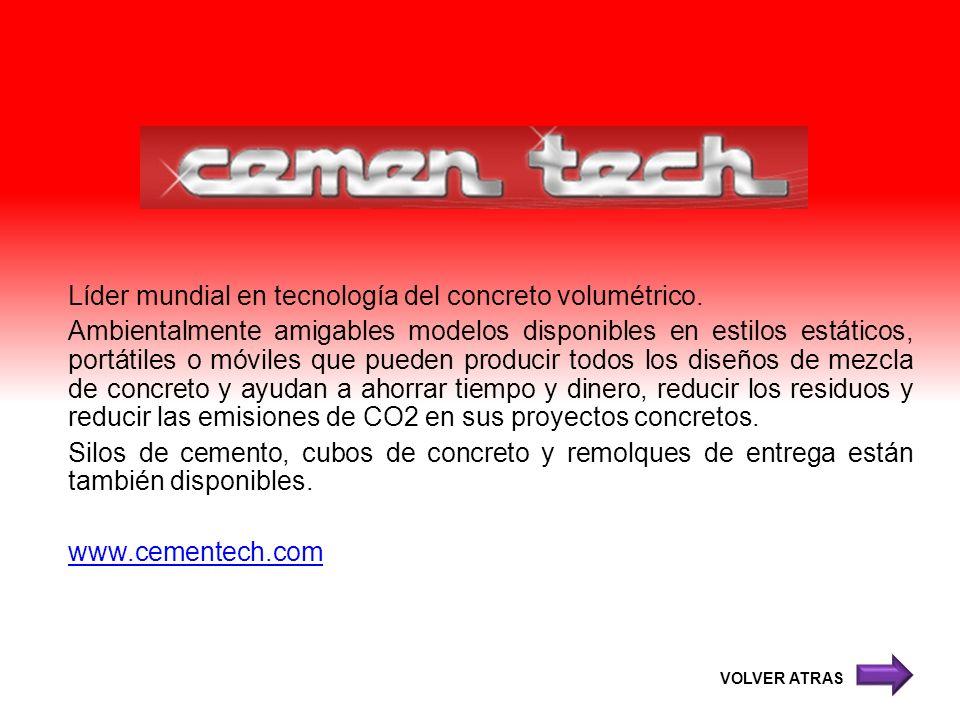 Líder mundial en tecnología del concreto volumétrico