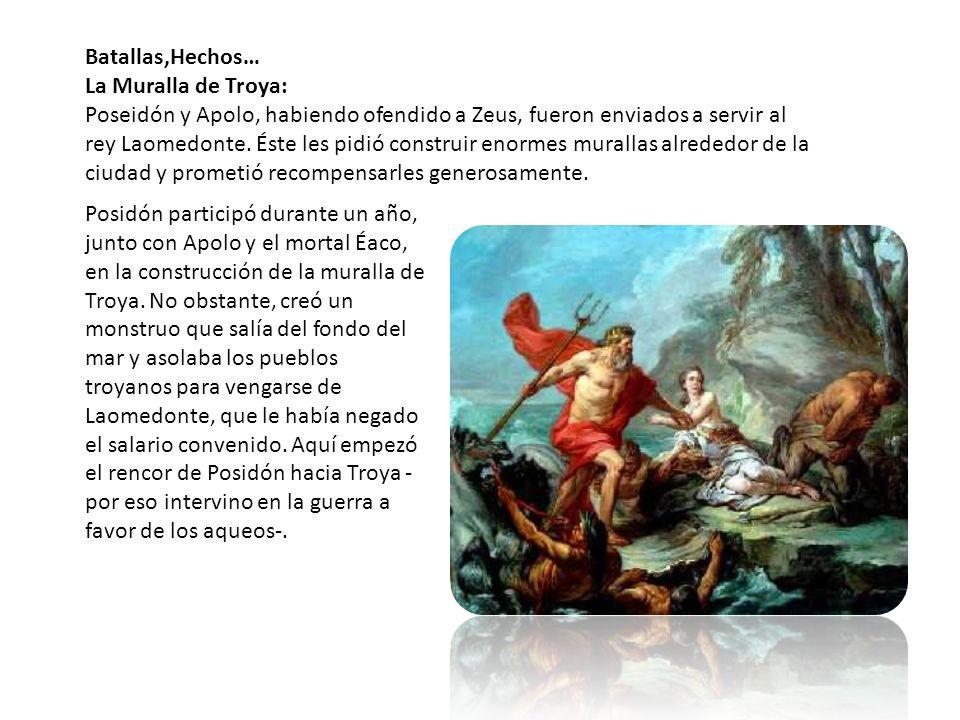 Batallas,Hechos… La Muralla de Troya:
