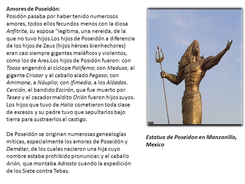 Amores de Poseidón: