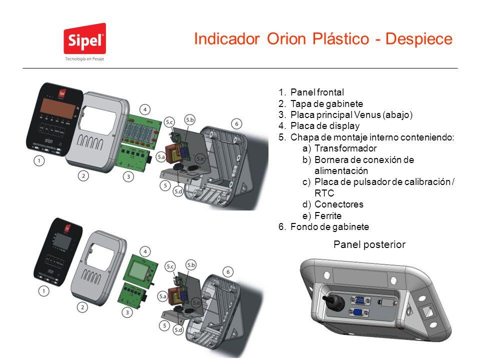 Indicador Orion Plástico - Despiece