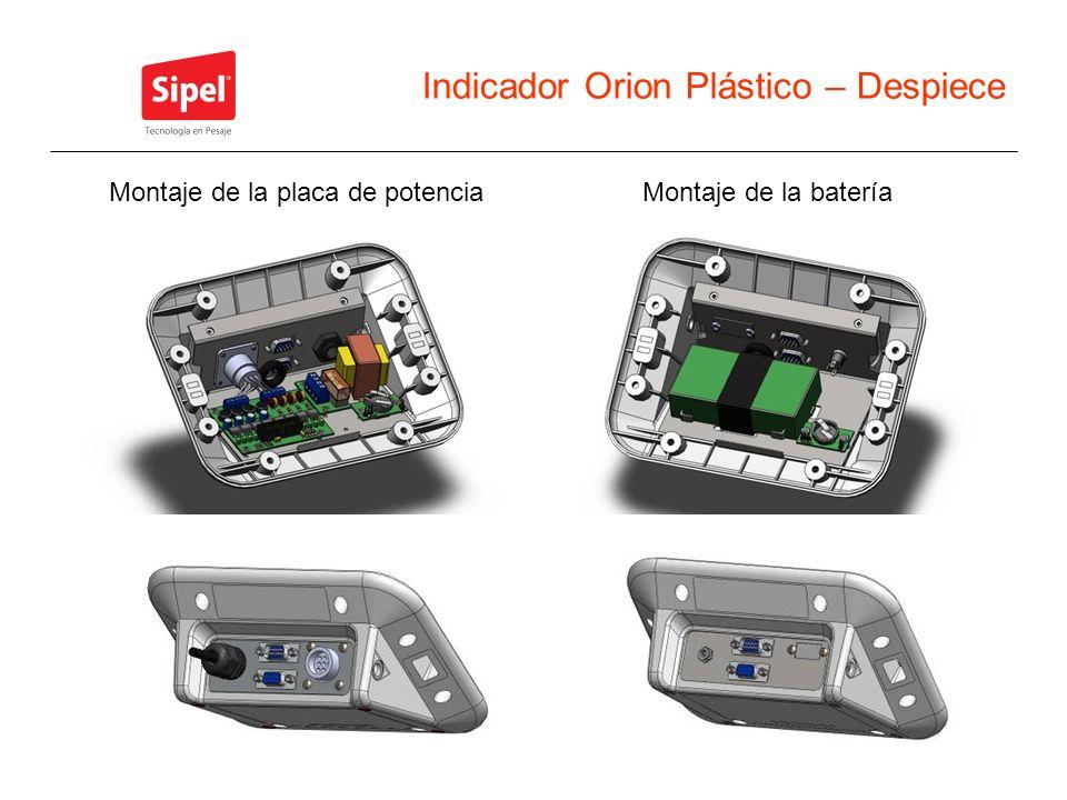 Indicador Orion Plástico – Despiece