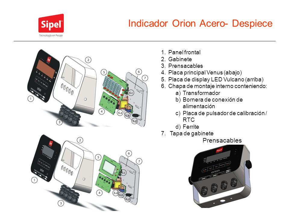 Indicador Orion Acero- Despiece