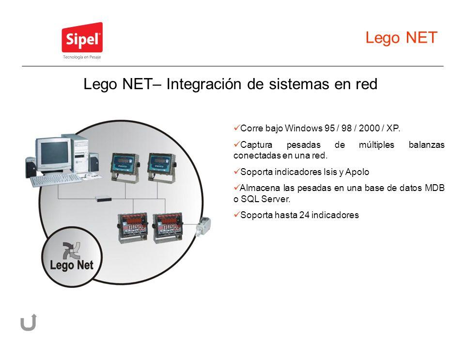 Lego NET– Integración de sistemas en red