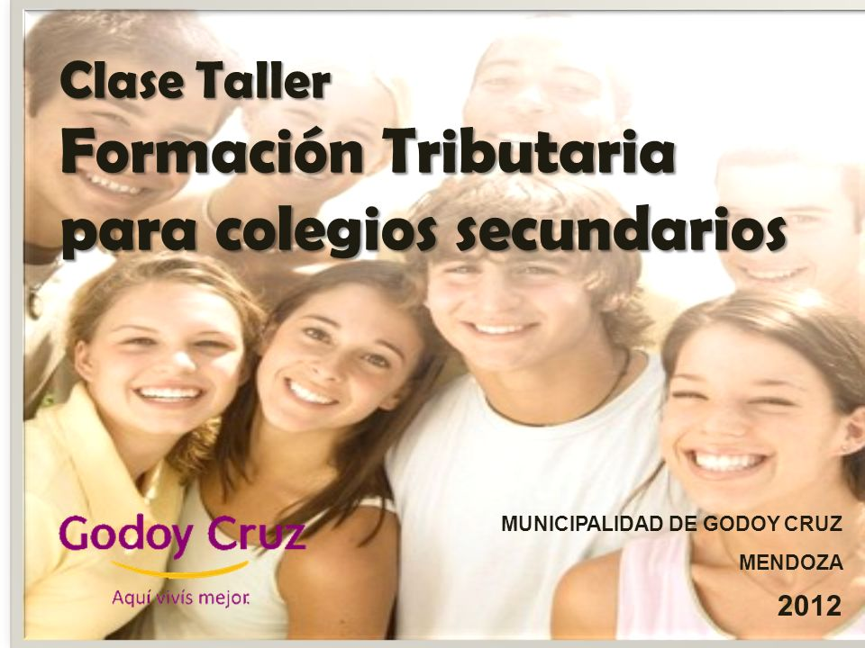 Clase Taller Formación Tributaria para colegios secundarios
