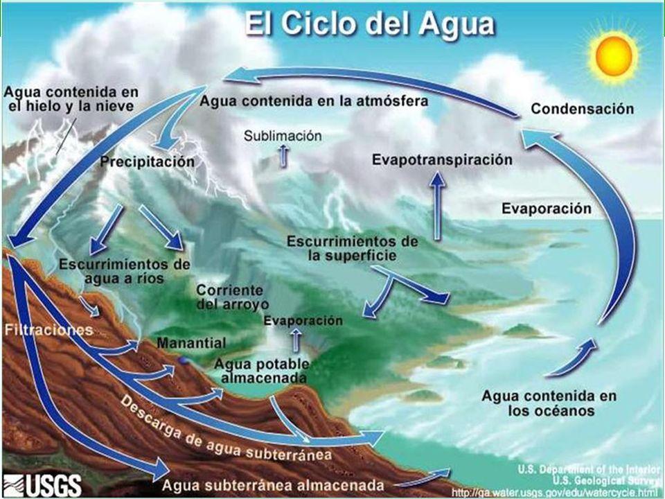 EL AGUA NO SE CREA NI DESTRUYE: SE TRANSFORMA