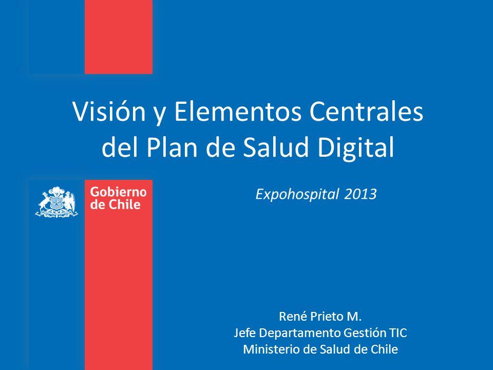 Visión y Elementos Centrales del Plan de Salud Digital