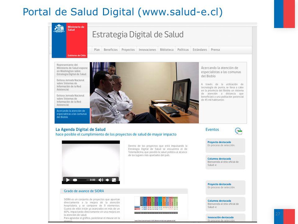 Portal de Salud Digital (www.salud-e.cl)